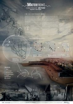 site plan blow up w diagrams next to it Presentation Board Design, Architecture Presentation Board, Architecture Board, Urban Architecture, Architecture Drawings, Concept Architecture, Amazing Architecture, Architectural Presentation, Planer Layout
