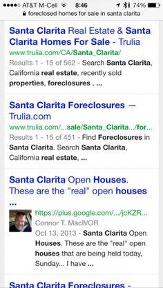 Santa Clarita real estate listings