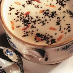 French - Cream of White Coco Beans and Bacon Soup - by Famous Chef - Joël Robuchon Joel Robuchon, Bean And Bacon Soup, Bouquet Garni, Lard, New Cooking, French Food, Baking Ingredients, Cookie Dough, Food To Make