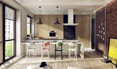 Kuchnia styl Industrialny - zdjęcie od KAEEL.GROUP | ARCHITEKCI - Kuchnia - Styl Industrialny - KAEEL.GROUP | ARCHITEKCI