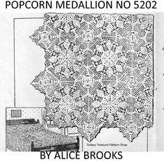 Blazing Star Crochet Medallion Pattern No 5202 | Todays Treasure Pattern Shop