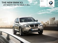 BMW X3 iPad App - Clickable Demo
