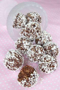 dada-kokosbollar4 Tasty, Yummy Food, Fika, Paleo Dessert, Healthy Sweets, Food Videos, Breakfast Recipes, Clean Eating, Gluten Free