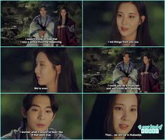 Moon Lovers Scarlet Heart Ryeo - Goodbye Kiss in Mountains Baek Ah & Woo Hee - Episode 13 (Eng Sub) korean drama