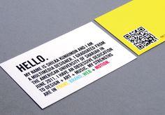 Innovation in Portfolio Design by Shilka Kunhimon, via Behance