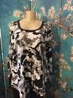 ♢} ROAMAN'S PLUS 1X NEW GRAY CAMOUFLAGE ROUND NECK COTTON BLEND LONG #SLEEVE #TUNIC T http://ebay.to/2g0MADv