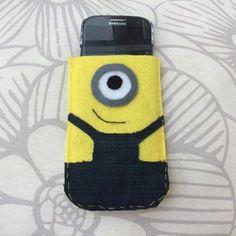 Étui pour téléphone portable minion