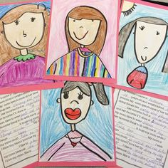 Mother's Day portraits and questionnaires! Easy and adorable keepsakes for mom!