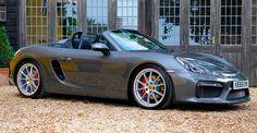 2015 Porsche Boxster Spyder Right Hand Drive