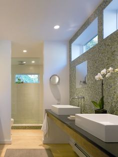Contemporary Bathroom Bathroom Design, Pictures, Remodel, Decor and Ideas - page 13
