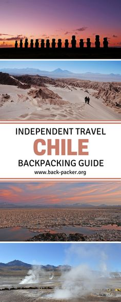 Planning a trip to South America? This Chile travel ebook contains everything you need to know before visiting the country and includes an itinerary planner, packing list, destination guide + more. A complete independent travel guide to Chile. | Back-Packer.org#Chile#Travel