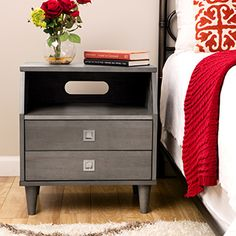 Shop for Marley 2-drawer Nightstand. Get free shipping at Overstock.com - Your Online Furniture Outlet Store! Get 5% in rewards with Club O!