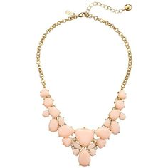 Kate Spade New York Color Pop Short Necklace, Pink (1,725 MXN) ❤ liked on Polyvore featuring jewelry, necklaces, pink, chain jewelry, pink chain necklace, kate spade, kate spade jewelry and pandora jewelry
