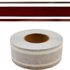 """TRACKER MARINE 155874 BURGUNDY / DARK CHAMPAGNE 2 1/2 INCH BOAT PINSTRIPE TAPE eBay recommends refreshing this page. Overall Dimensions: 2 1/2"""" H x 150ft W. 