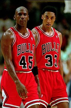 Michael Jordan Scottie Pippen Chicago Bulls