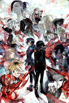 Tokyo Ghoul/Tokyo Kushu  This picture is so awesome, you know?