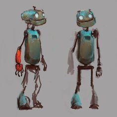 ArtStation - Robote, studio mouette