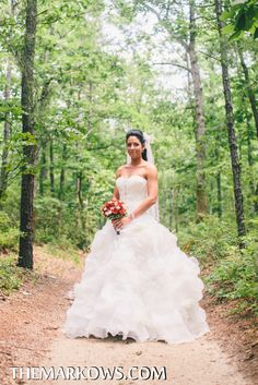 The bride poses for photos at an outdoor location. www.VersaillesCaterers.com. Photo courtesy of Markow Photography. #wedding #bride #groom #marriage #VersaillesBallroom #njweddings #njbanquethall #tomsriver #nj #newjersey #weddingtheme #reception #weddingreception