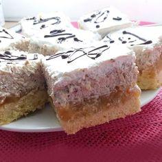 Almás dióhabos kocka Cheesecake, Dios, Cheesecakes, Cherry Cheesecake Shooters