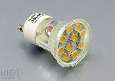 Nextec mini #GU10 #LED #Spot 1,8 Watt Schutzglas