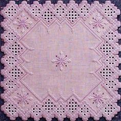 Vivid Violet (Hardanger embroidery)