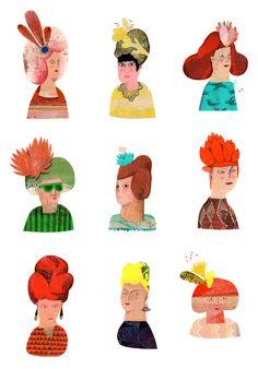 Illustrations, Color, Beauty, Illustration, Colour, Beauty Illustration, Illustrators, Colors