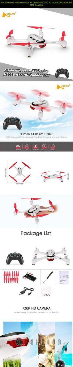 HOT Original Hubsan H502E X4 Desire GPS 2.4G RC Quadcopter Drone 720P Camera #camera #desire #technology #kit #fpv #x4 #502e #drone #hubsan #gadgets #tech #racing #parts #shopping #plans #products