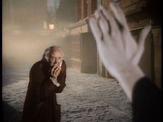 """""""I am in the presence of the Ghost of Christmas Yet To Come?"""" said Scrooge.   The Spirit answered not, but pointed downward with its hand."""
