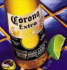 Corona Extra ~ heerlijk met een schijfje citroen!