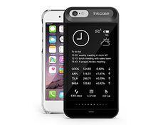 iPhone 6の背面がサブスクリーンに!? 電子ペーパーを採用した革新的なiPhoneケースが登場 | TS デジカル情報部 | デジカルCOLUMN | 明日をちょこっとHAPPY!にするデジカル系情報マガジン TIME&SPACE(タイムアンドスペース)