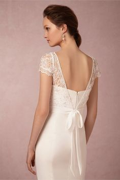 Luciana Topper in Bride at BHLDN