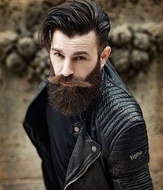 bigbeardedfrenchman — the-bearded-stag: Great stache and beard combo...