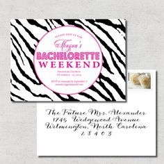 Bachelorette Invitation  Printable  DIY by LilLizaJaneDesigns, $15.00