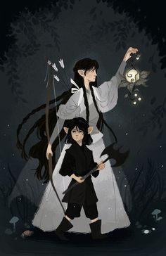 Aredhel and Maeglin