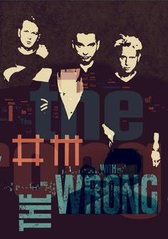 Depeche Mode giclee  poster WRONG  canvas  print wall by Artistico, $30.00