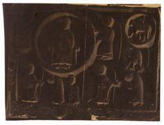 Retablo de pedra da ábsida de San Martiño de Mondoñedo. Foz, Lugo, ca. 1910. Xelatina de prata ao clorobromuro. 10 x 13 cm.