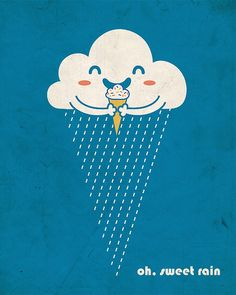 Oh, Sweet Rain by ILoveDoodle, via Flickr