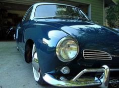 i want this teal vw karmann pretty coupe