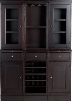 McAllister Large Buffet with Hutch in Buffets, Sideboards | Crate and Barrel - maybe not the whole thing but pieces of it...