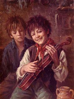 Giocando con il violino (Playing the violin) -Maestro Nello Iovine