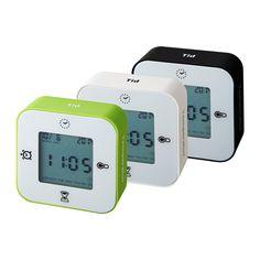 LÖTTORP 時計/温度計/アラーム/タイマー IKEA