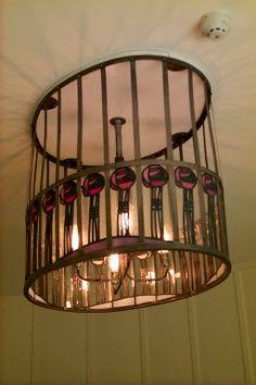 Charles Rennie Mackintosh light fixture...gorgeousness...