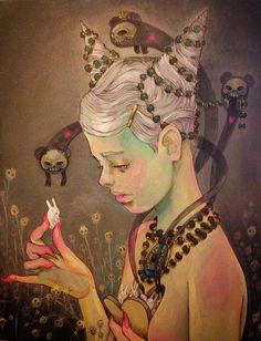 Chiara Bautista una misteriosa storia d'amore illustrata • Illustrazione