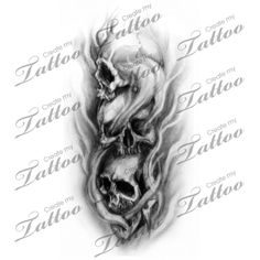 Looking for the perfect tattoo design? Here at Create My Tattoo, we specialize in giving you the very best tattoo ideas and designs for men and women. Evil Skull Tattoo, Evil Tattoos, Skull Hand Tattoo, Clown Tattoo, 4 Tattoo, Skull Tattoo Design, Badass Tattoos, Skull Tattoos, Tattoo Designs Men