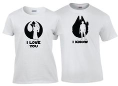 I love You I Know Han and Leia Star Wars Quote Matching