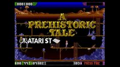 A Prehistoric Tale -  Atari ST (1990)