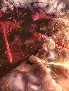 Fate/Zero: Berserker vs. Saber
