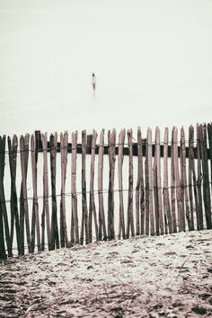 Buy Standing Behind The Fence - Limited Edition 1 of 15, a Color on Paper by Paul Bucknall from United Kingdom. It portrays: Beach, relevant to: seaside, shoreline, calm, airy, beach fence, coast, alone, picket fence, fence, fencing, freedom, one person A lone figure standing on a beach. The image has a haunting feel to it, it provokes many questions to what the person is doing, thinking or even waiting for. I was pleased with the graphic quality of the print.  The image is a limited edition…