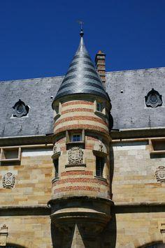 château du Marché.Châlons-en-Champagne. Champagne-Ardennes