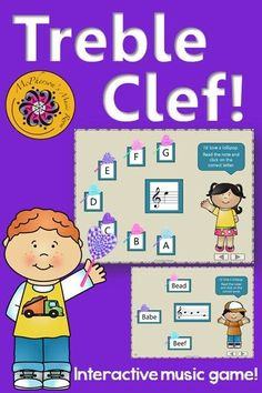 What a fun interactive elementary music game to practice reading treble clef note names on the staff! Great for whole group instruction, centers or substitute! Music Lesson Plans, Music Lessons, Piano Lessons, General Music Classroom, Music Education Activities, Teaching Music, Music Teachers, Music Games, Music Mix